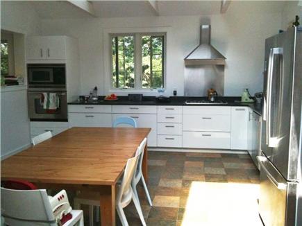 Wellfleet Cape Cod vacation rental - Newly renovated modern kitchen