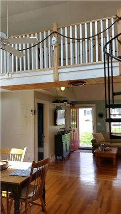 West Yarmouth Cape Cod vacation rental - Overview of Kitchen and Living Room