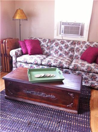 South Yarmouth Cape Cod vacation rental - Living Room with Queen sized sleeper sofa