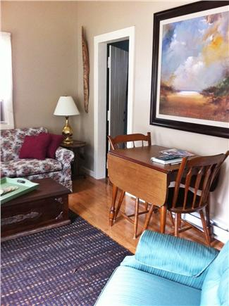 South Yarmouth Cape Cod vacation rental - Living room with Dining