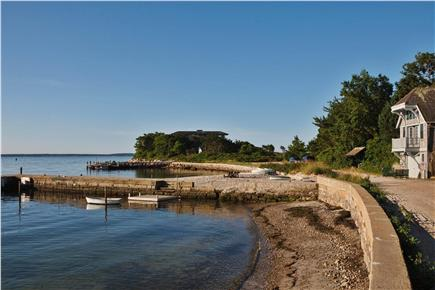 Woods Hole Woods Hole vacation rental - Private road leading to the Airplane House