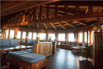 Woods Hole Woods Hole vacation rental - 52 foot diameter semicircular living conservatory