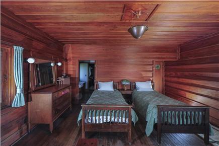 Woods Hole Woods Hole vacation rental - East bedroom looking onto Nobska lighthouse and Martha's Vinyeard