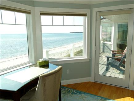 West Yarmouth Cape Cod vacation rental - Upstairs queen and twin bedrooms share upper deck