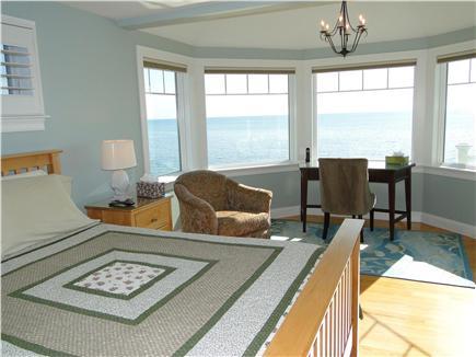 West Yarmouth Cape Cod vacation rental - Upstairs queen bedroom with door to upper deck
