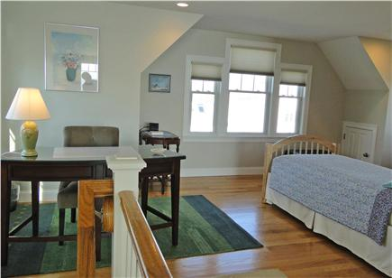 West Yarmouth Cape Cod vacation rental - Open loft area upstairs with two twin beds and desk