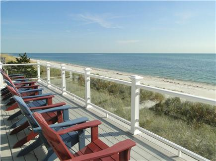 West Yarmouth Cape Cod vacation rental - Incredible views from the first floor deck