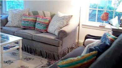 Mashpee Cape Cod vacation rental - Living room on the first floor
