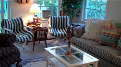 Mashpee Cape Cod vacation rental - Another look at living room first floor