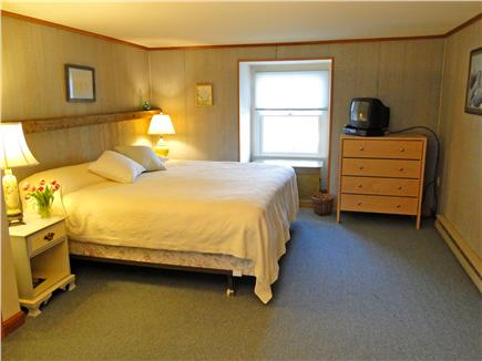 Chatham Cape Cod vacation rental - King sized master bedroom upstairs with TV
