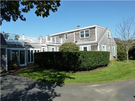 E. Dennis Cape Cod vacation rental - Large driveway with well landscaped yard