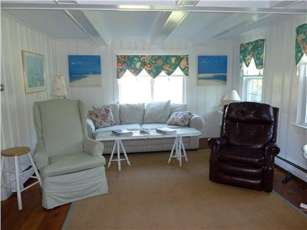 E. Dennis Cape Cod vacation rental - Sun-filled living room