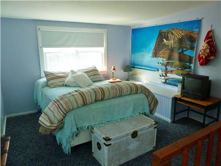 E. Dennis Cape Cod vacation rental - Second floor bedroom-open area with 1/2 bath