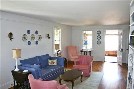Harwich Port Cape Cod vacation rental - Living room #2 with TV