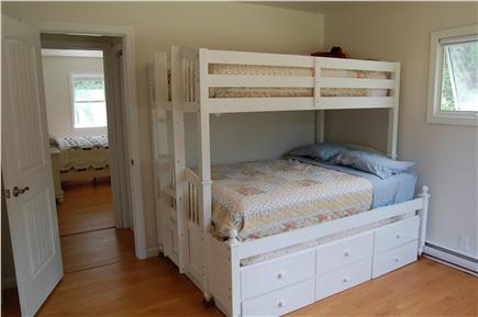 Chatham Cape Cod vacation rental - The second bedroom features a twin over full bunk bed