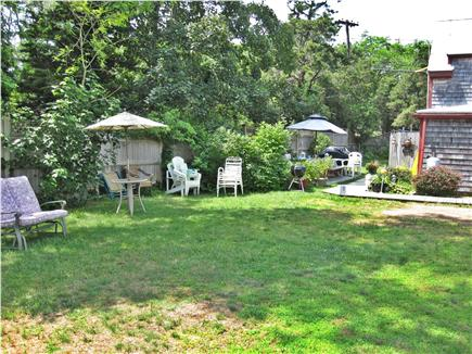 Eastham Cape Cod vacation rental - Backyard,space for croquet