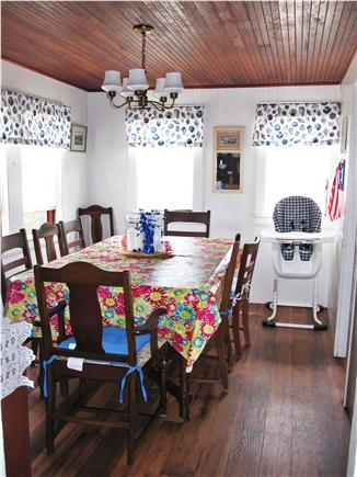 Eastham Cape Cod vacation rental - Main dining room