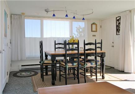 Chatham Cape Cod vacation rental - Dining room looks to CC National Seashore and Nantucket Sound