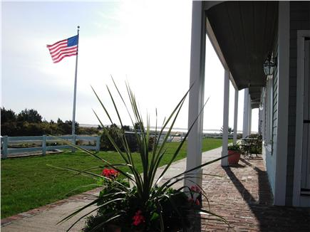 Chatham Cape Cod vacation rental - Front View Looking Out to Our Private Beach - Just 50 Yards Away!