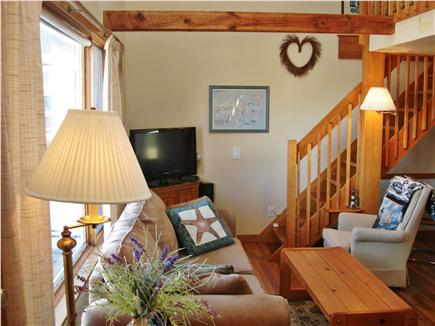 Chatham Cape Cod vacation rental - Cozy & Comfortable Living Area -  Newly Refinished Hardwood Flrs.
