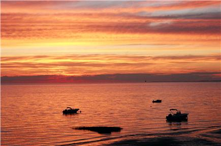 Eastham Cape Cod vacation rental - Memorable sunset over Cape Cod Bay
