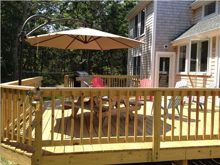 Eastham Cape Cod vacation rental - Back view of the cottage