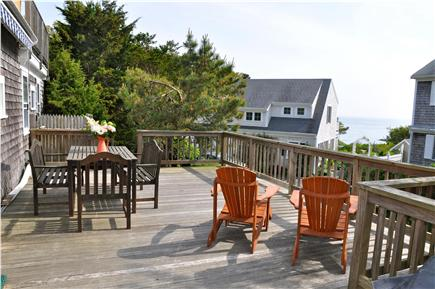 Chatham Cape Cod vacation rental - Spacious lower deck.