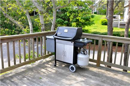 Chatham Cape Cod vacation rental - Weber gas grill on lower deck