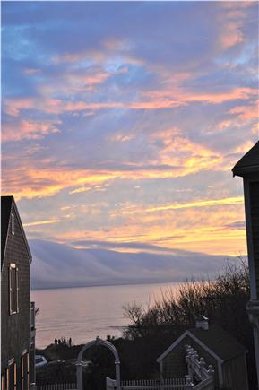 Chatham Cape Cod vacation rental - Sunset on the Sound.  Photo taken from the dining room.
