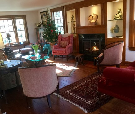 West Falmouth Cape Cod vacation rental - Elegantly appointed living room