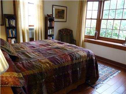West Falmouth Cape Cod vacation rental - First floor bedroom next to full bath (queen size bed)