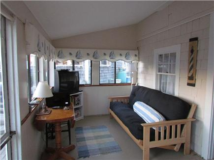 Dennisport Cape Cod vacation rental - Living area, back side