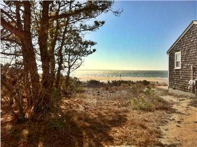 Wellfleet Cape Cod vacation rental - Views of bay from kitchen
