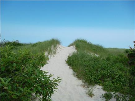 Brewster Cape Cod vacation rental - Just a few  steps down this path and you're on the beach
