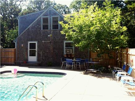 Eastham Cape Cod vacation rental - Large patio with in-ground pool