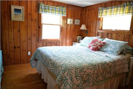 Eastham Cape Cod vacation rental - Queen Bedroom (may also fit pack & play) with flat screen tv