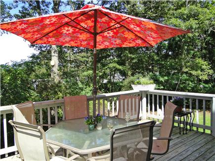 Pocasset Pocasset vacation rental - Sunny deck with grill and seating for 6