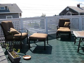 Wellfleet Cape Cod vacation rental - Roof deck from another angle