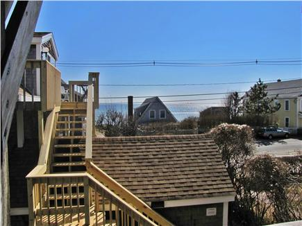 Provincetown, East End Cape Cod vacation rental - The view from the second floor deck