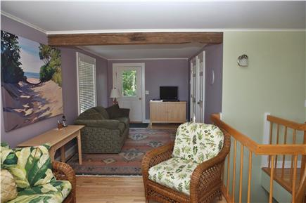 Provincetown, East End Cape Cod vacation rental - Living room area, second floor