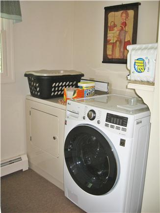 South Dennis Cape Cod vacation rental - Laundry room on first floor.