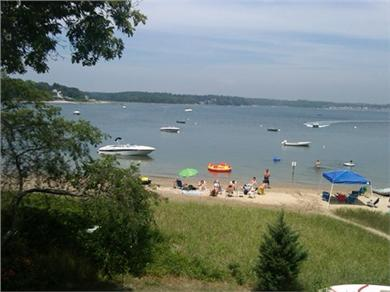 Onset, Buzzards Bay MA vacation rental - Buttermilk Bay Beach only a stone's throw away