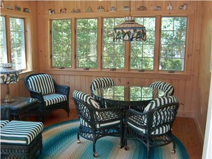 Harwich Cape Cod vacation rental - Beautiful Sun Room with 10 large windows, has own door to deck