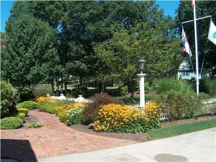 Harwich Cape Cod vacation rental - Front Entrance with professional landscaped grounds