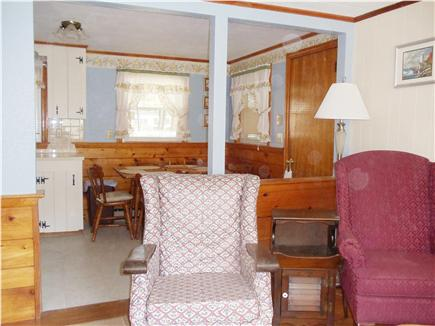 Dennis Port Cape Cod vacation rental - Kitchen and dining area from Living Room