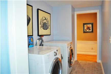 South Yarmouth Cape Cod vacation rental - Laundry room with large capacity, front-loading washer and dryer