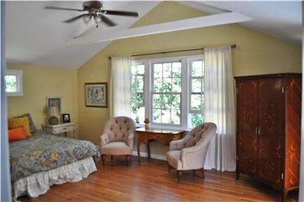 South Yarmouth Cape Cod vacation rental - Spacious master bedroom with walk-in closet and vaulted ceilings