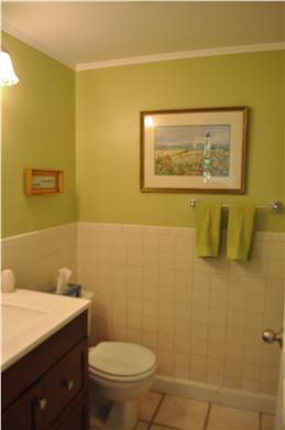 South Yarmouth Cape Cod vacation rental - Renovated master bath with tub and shower