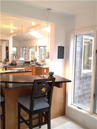 Wellfleet Cape Cod vacation rental - Sun Room looking to Gourmet Kitchen