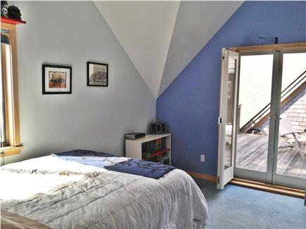 Wellfleet Cape Cod vacation rental - Bedroom with deck